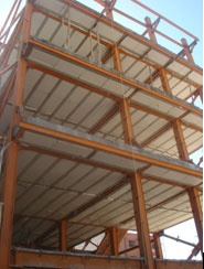 تولید و اجرای سقف كرمیت (تیرچه فلزی)