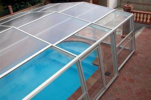 سیستم پوششهای سقف متحرک و ثابت استخر رستوران تالار باغ