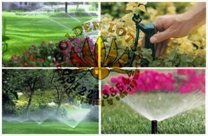 انواع آبیاری اتومات باغ، فضای سبز
