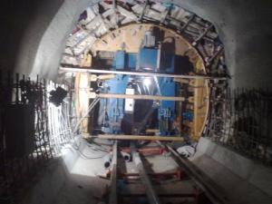 تونل، اجرای آرماتوربندی وقالببندی تونل