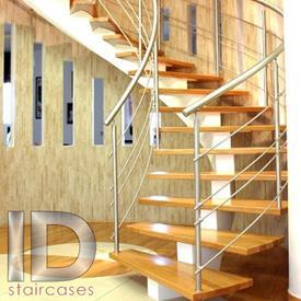 ساخت پله گرد و نوردکاری