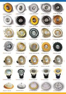 لامپ و قاب هالوژن و لامپ های کم مصرف