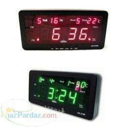 ساعت و تقویم دیجیتال رومیزی   ساعت دیجیتال