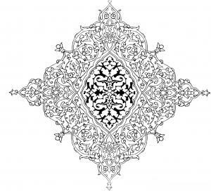 طرح های زیبای ایرانی اسلامی به صورت فایل اتوکد