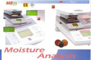 ترازوي رطوبت سنج Basic داراي ظرفيت وزني 35 گرم با دقت 0.001