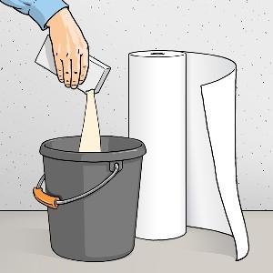 چسب کاغذدیواری گیاهی WALL