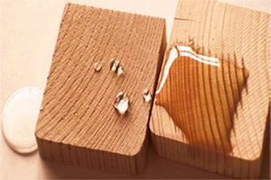 نانو پوشش آبگریز چوب