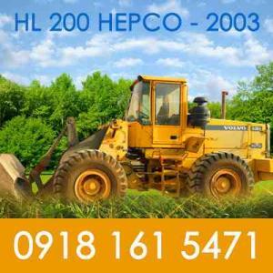 فروش لودر HL 200 هپکو مدل 2003