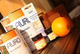 رنگ و پوشش چوبی صد درصد طبیعی Auro آلمان