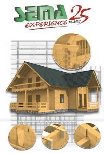 نرم افزار طراحی سازه های چوبی Sema