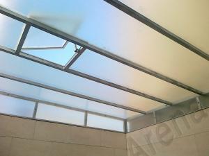 اجرای سقف حیاط خلوت| سقف پاسیو | Patio Roof