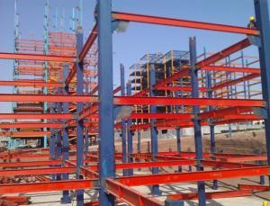 ساخت، نصب و پيمانكاري سازه اسکلت های فلزی