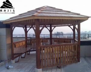 طراحی و اجرا انواع سازه چوبی فضا باز - آلاچیق، پرگولا