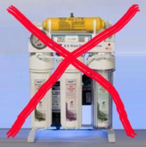 تشخیص دستگاه تصفیه آب غیر استاندارد