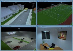 طراحي و محاسبه روشنايي خيابانها ، معابر ، ساختمانها