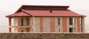 اجرای سقف شیبدار - پوشش سقف سوله - خرپا