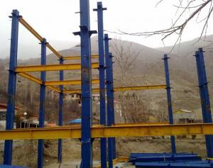 ساخت و پيمانكاری | نصب سازه | اسکلت فلزی