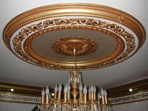 گل سقف تزئینات داخلی