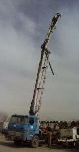 پمپ بتن دکل 21 متری