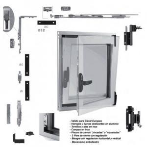 یراق آلات درب و پنجره آلومینیومی آکوفال ACOFAL اسپانیا