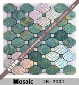 موزاییک آلومینیومی چسبی دیواری