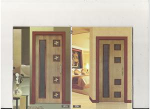 تولید انواع درب چوبی ساختمان  pvc abs hdf mdf hpl (قیمت HDF لنگه ای 46000 تومان)