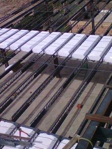 تولید و اجرای سقف كرمیت (تیرچه فلزی ) - تیرچه کرومیت و بتنی