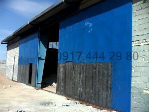 ساخت درب های بزرگ ریلی و تاشو در شیراز و حومه