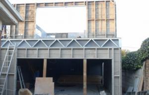 شرکت ساخت ویلا،ساختمان وخانه پیش ساخته با سازه(ال اس اف)LSF