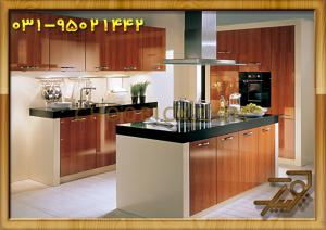 آرک آشپزخانه با ام دی اف