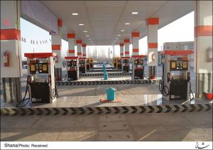 پمپ بنزین ممتاز دو منظوره،اتوبانی در جنوب تهران