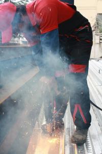 اجرای سقف عرشه فولادی MetalDeck