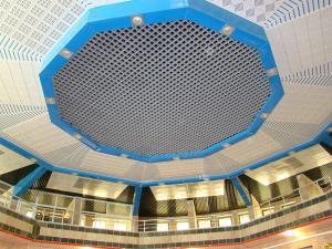 سقف کاذب آلومینیومی،پنل فایبرسمنت،خدمات پانچ CNC و رنگ پودری