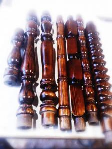 تولید نرده و پله های چوبی
