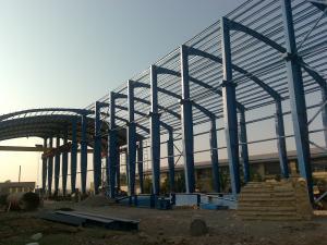 ساخت وتولید سازه ,سوله,اسکلت فلزی جوشی وپیچ مهرهای با کیفیت