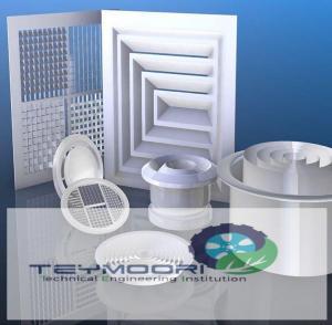 سازنده انواع دریچه های نتظیم هوا و دمپرهای بین کانالی
