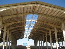 ساخت سالن صنعتی
