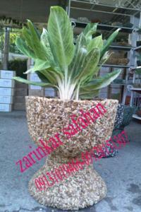 گلدان های پایه دار فایبرگلاس زرین کار صفاهان