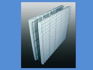 تولید کننده دیوارهای تری دی پانل دوبل با بتن ریزی داخلی