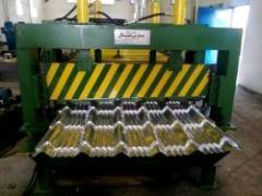 دستگاه ایرانیت فلزی - دستگاه حلب شیروانی