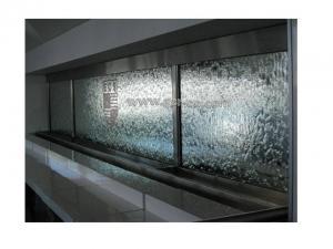 آبنما شیشه ای ،آبنمای شیشه ای،آب نما،آبنما دیواری،ساخت آبنما