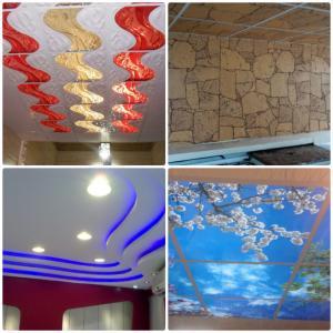 اجرا انواع سقف کاذب- سقف کاذب 60در60-کناف-دیوار پوش -پخش سقف