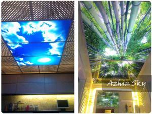 سقف آسمان مجازی | سقف آسمان | سقف کاذب تصویردار | سقف کاذب