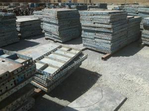 خرید و فروش قالبهای فلزی بتن - جک سقفی - لوله داربست(نو و کارکرده)