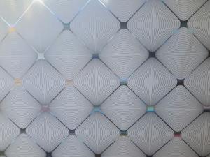 پخش تایل PVC 60×60 هات استمپ و سفید براق 8 میل ایرانی