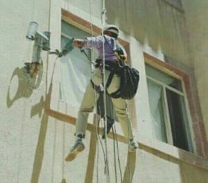 انجام گچکاری نمای ساختمان کرج و تعمیرات نمابدون داربست درکرج
