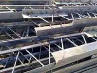 تولید و اجرای تیرچه فلزی (کرومیت)