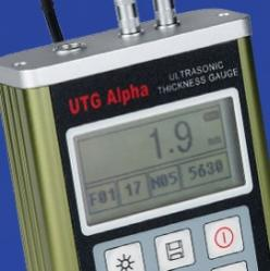 دستگاه ضخامت سنج التراسونیک SaluTron آلمان مدل UTG Alpha