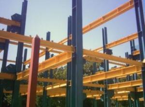 ساخت اسکلت فلزی