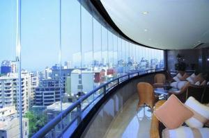 فروش سیستمهای شیشه ریلی بالکن در تهران